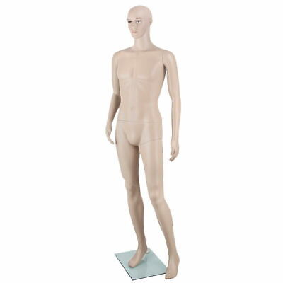 Full Body Male Mannequin Clothes Display Dressmaking Window Showcase Torso