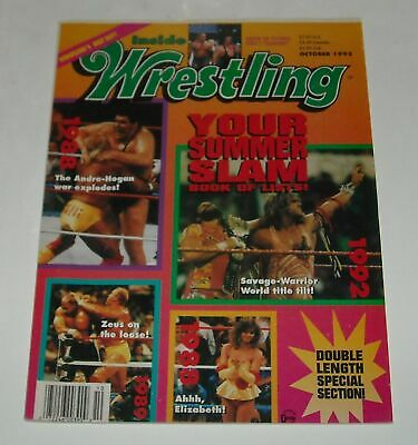 All Star Tv Wrestling Magazine Album Over 65 Pin Up Black White