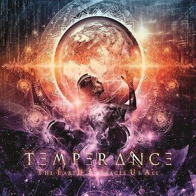 TEMPERANCE - The Earth Embraces Us All - CD DIGIPACK