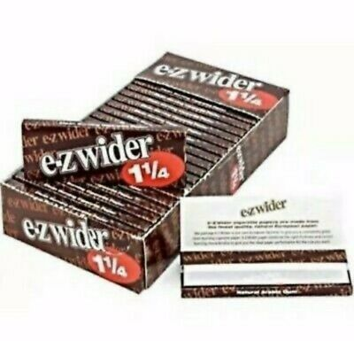 EZ Wider 1 1/4 Rolling Papers 24 Booklets