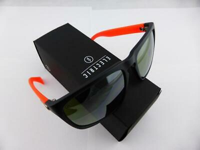 042207840ba8 NEW Electric Knoxville XL Mod Red Silver Chrome Mens Square Sunglasses  Ret$120