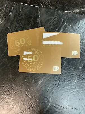 LOT of 3 Peet's Coffee each $20 Gift Cards TOTAL $60