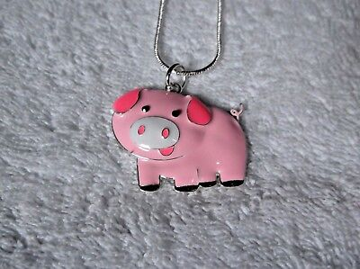 TOY STORY PIG HAAM Unwanted Large Charm Gift NECKLACE