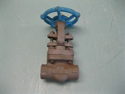 "3/8"" NPT Smith 800# FS Model 0800 Gate Valve NEW H20 (2457)"