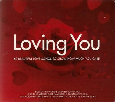 LOVING YOU<>THREE CDs<>LOVE SONG COMPILATION ~