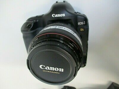 Canon EOS-1, DS Mark II, Digital Camera With Lens Model # DS126081, Used