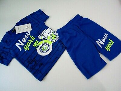 Boys Spring Summer Short Tracksuit Top And Shorts Set 3-4 years