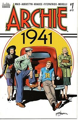 Archie 1941 #1 (November 2018, Archie Comics) Cover A Peter Krause Mark Waid