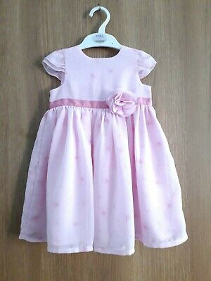 Cute Baby Girl's Sleeveless  Party Dress Age 12 /18 Months