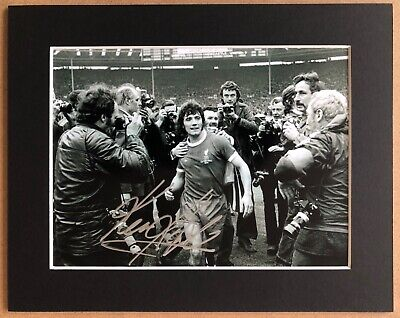Kevin Keegan - Liverpool - LFC - Signed Photo - Mounted