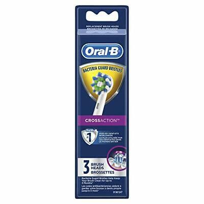 Oral-B CrossAction Replacement Brush Heads 3 ct