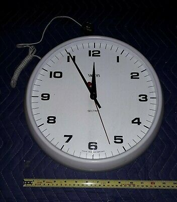 Smiths SECTRIC electric Wall Clock