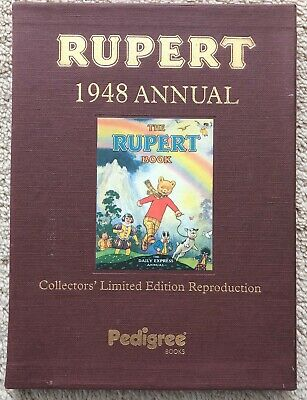 RUPERT FACSIMILE ANNUAL 1948 AS New LTD EDITION in VERY FINE SLIPCASE No 0234
