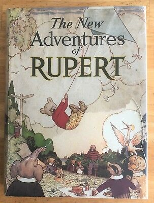 RUPERT ORIGINAL ANNUAL 1936 VG+ in SCARCE 75% Original Dust Wrapper