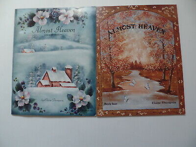 Lot of 7 Elaine Thompson Almost Heaven