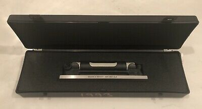 Moore and Wright Accuracy MWELS Builders Engineers Precision Level Tool 165mm