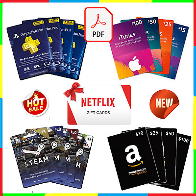 How To Get Gift Cards Discounted -40% Off Of Its Value Netflix Amazon iTunes ...