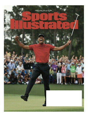 Sports Illustrated~THE MASTERS & TIGER'S WIN + NBA PLAYOFFS~April 22/29, 2019