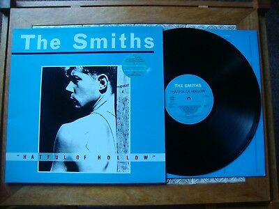 The SMITHS HATFUL OF HOLLOW  Rough Trade 76 1984 1st PRESS With Inner Near Mint