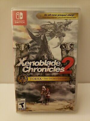 New Nintendo Switch Xenoblade Chronicles 2 TORNA- The Golden Country