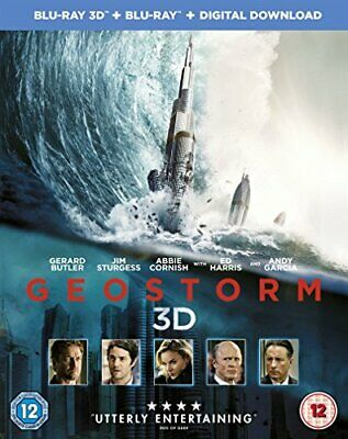 Geostorm [Blu-ray 3D + Blu-ray + Digital Download] [2017] [Region ... -  CD 36VG