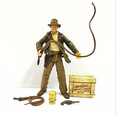 "HASBRO 3.75"" Indiana Jones Raiders Of The Lost Ark Action Figure collect toy FR"