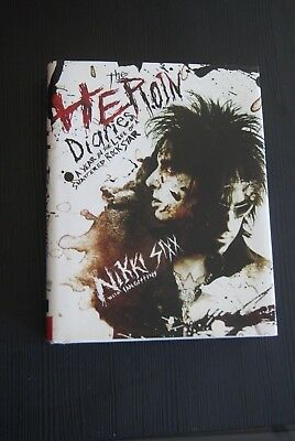 First Edition - Heroin Diaries: A Year in the Life - Nikki Sixx from Motley Crue