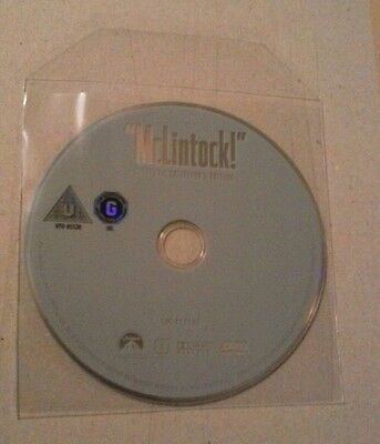 McLintock (DVD, Disc only) Brand new.  John Wayne.