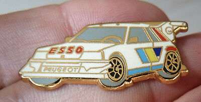 Pin's Voiture Rallye Peugeot 205 T 16 Turbo Esso Zamac Drago