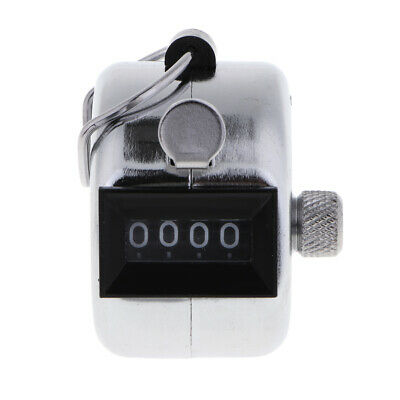 Manual Tally Counter Manual Counting 4 Digit Number Golf Clicker 0000-9999