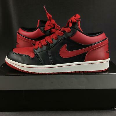 brand new a55b2 62120 2008 Air Jordan 1 PHAT Low Bred Banned, 338145061, Size 9 USED M11