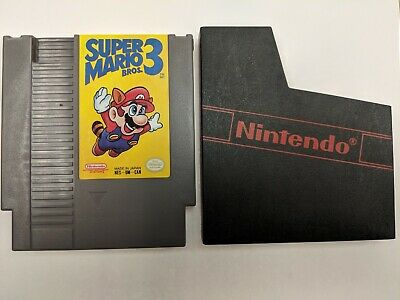 Super Mario Bros. 3 (NES) Cartridge only Tested  Very Good Condition