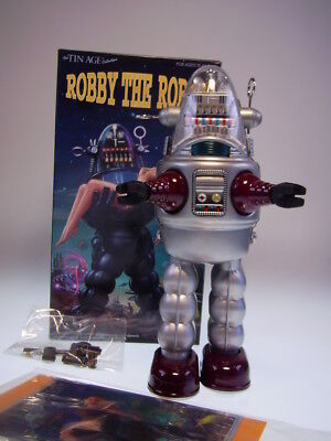"GSR  ""ROBBY THE ROBOT""  von OSAKA TIN TOY INSTITUT JAPAN,  NEU/NEW/NEUFn NEW BOX"