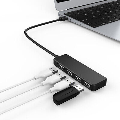High Speed 4 Port USB HUB 3.0 Multi Splitter Expansion Desktop PC Laptop Adapter