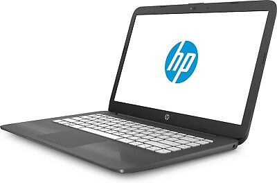 "HP STREAM 14-AX005NA 14.0""HD  LAPTOP INTEL CEL 1.6GHz 32GB eMMC 4GB RAM WIN10"