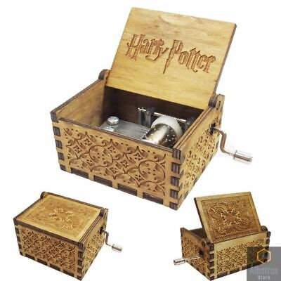 GAME OF THRONES  Music Box Engraved Wooden Hand Crank Interesting Toy Gift