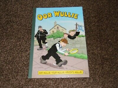 """OOR WULLIE"" Cartoon book Scottish humour."