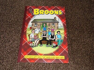 The Broons - Scottish Cartoon Strip Book Comic Scotland