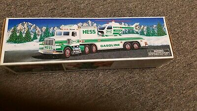 Hess Toy Truck And Helicopter - 1995 - New In Box