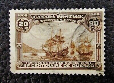 nystamps Canada Stamp # 103 Used $175