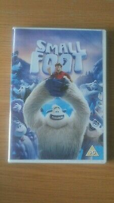 Small foot dvd 2018 new and sealed