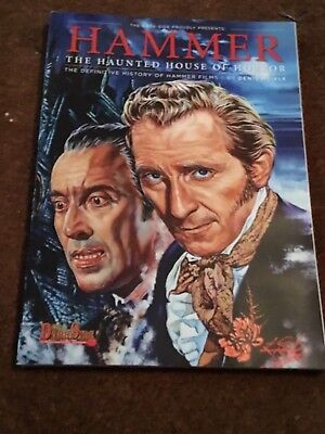 Hammer Horror films the haunted house of horror glossy deluxe softcover book
