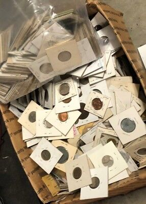 MYSTERY COIN COLLECTION - 16 Carded Identified Coins - Lot #420