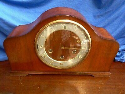 Vintage Smiths Westminster chime Clock - Serviced and Working order