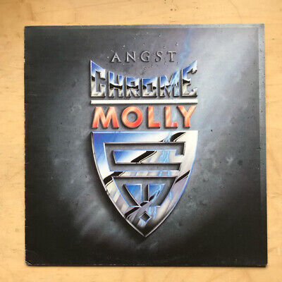 Chrome Molly Angst Lp 1988 - Nice Clean Copy Uk