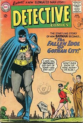 Detective # 330 - Batman And Robin - Elongated Man - Carmine Infantino Art