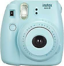 FUJIFILM Instax Mini 8 Ice Blue Instant Film Camera