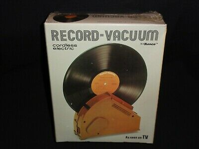 Record-Vaccum Cordless Electric by Ronco