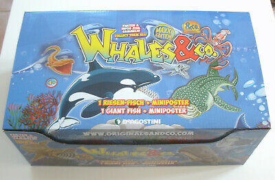 DeAgostini Whales & Co. Maxxi Edition - 1 x Display / 16 Booster NEU & OVP