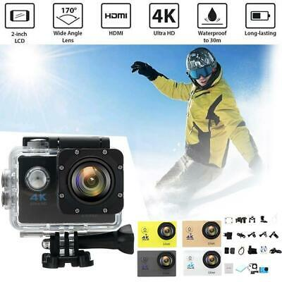 "4K Ultra SJ9000 Wifi Sport Action Camera 2.0"" DV 1080P HD Cam DVR Waterproof AE"
